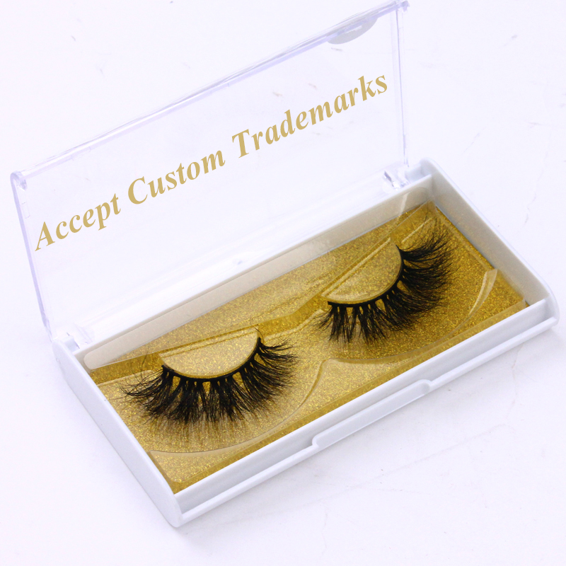 100% Mink Eyelashes Vendor Custom Logo Lshes Eyelashes 3D Mink 25mm <strong>J</strong> Series