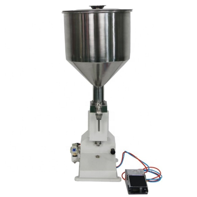 <strong>A02</strong> Excellent Material Superior Paste Cream Cosmetic Filling Machine