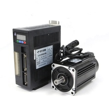 China supply nema35 750w 3phase 220v 0.75kw ac servo <strong>motor</strong> 90ST-M02430 with 3m cable for industrial machine