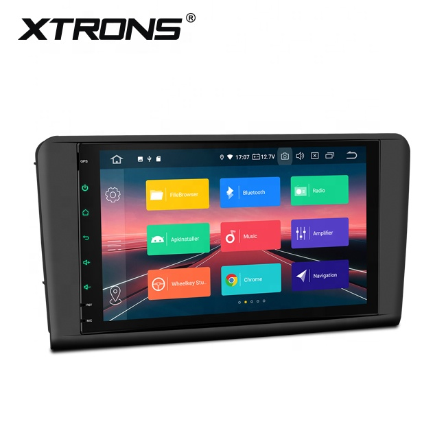 XTRONS 9&quot; <strong>android</strong> 10.0 car stereo touch screen for mercedes benz <strong>w164</strong> with GPS Antenna DVR camera