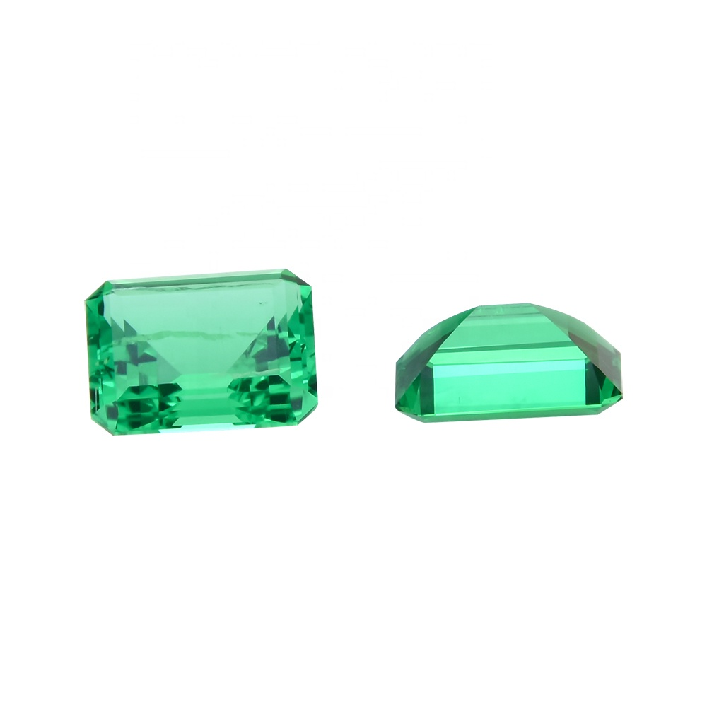 Factory Price Lab Created Emerald Stone For Fashion Jewelry