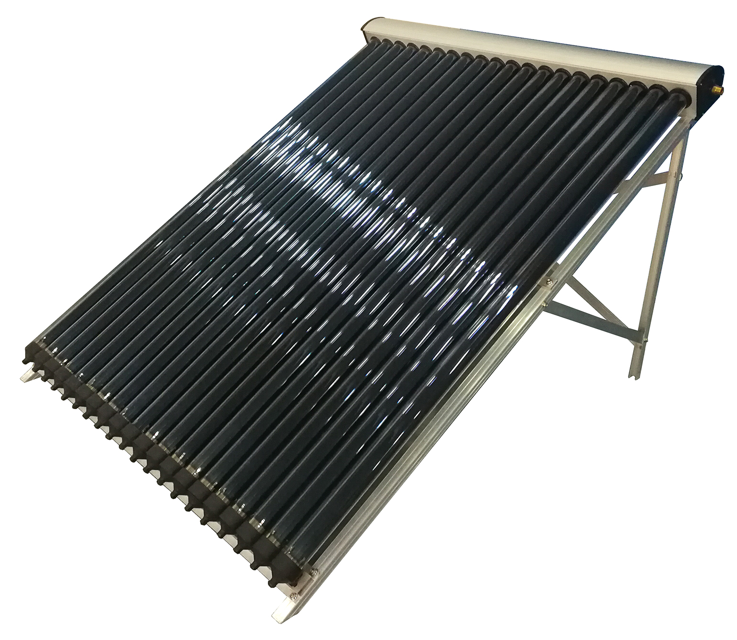 Heat Pipe Solar Water Heater U Pipe Type collector Pressurized Collector for split hot water system