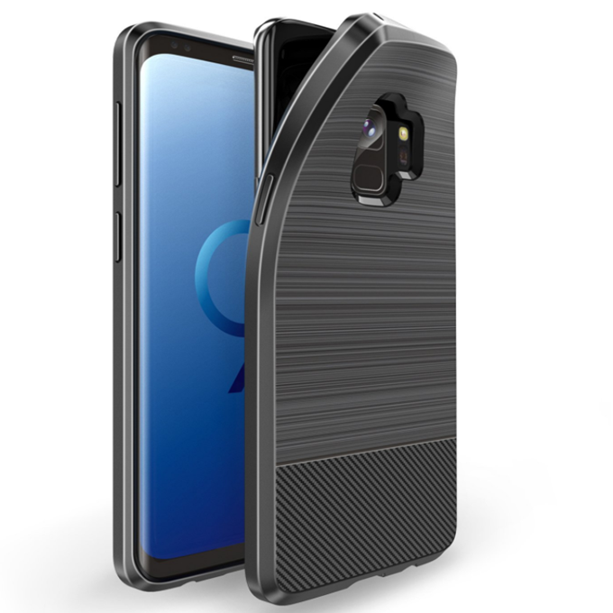 High Quality Soft Tpu Carbon Fiber Wire Drawing Mobile <strong>Phone</strong> Back Cover Case for LG W30 <strong>W10</strong> Stylo 5