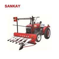 Soya dry green small bean harvester for sale