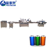 Good Price Aluminum Soda Beer Fruit Juice Can Filling Line/Carbonated Beverage Can Making Machine