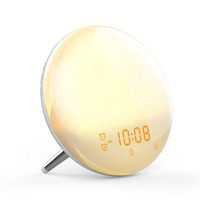 Smart Led Snooze Nordic Wall Office Alarm Clock And Night Light