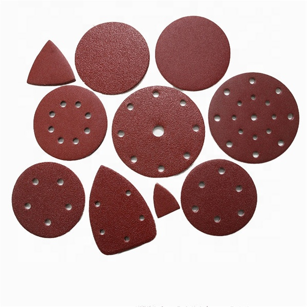 For Wood Aluminum Oxide Grinding Polishing Self Golden Adhesive Abrasive Sanding <strong>Paper</strong> Disc