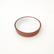 Terracotta Dish for Snack Ceramic Round <strong>Plate</strong>