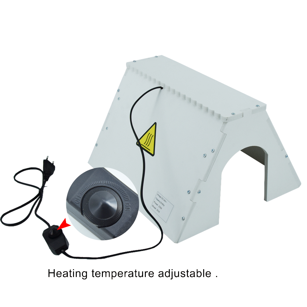 New Appearance White Chick Heating Plate House Farm Light Chick Duck Electric Heater Warmer For Sale