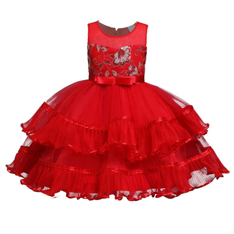 <strong>A08</strong> Kids Fancy Lace Tutu Dress Flower Girls Wedding Party Dresses Princess for girls dresses
