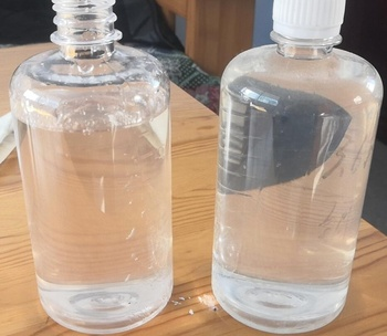 sodium silicate water glass liquid solution