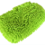 Green Waterproof Chenille Microfiber Premium Scratch-Free car Wash Mitt