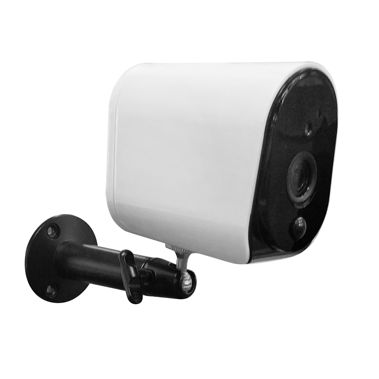 Wireless Outdoor Security CCTV PIR <strong>104</strong> degrees built-in pickup speaker IP wifi camera with battery