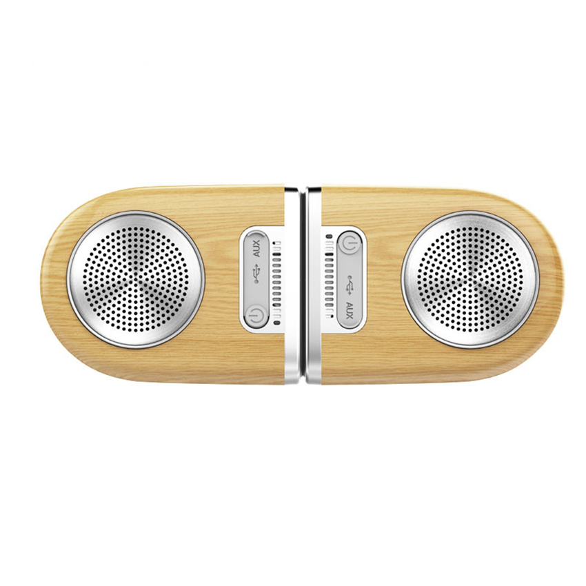 OVEVO <strong>D10</strong> Magnetic 360 Degree Panoramic Mode 8 Hours of Music Playback Wireless BT Speaker 1.5mm high shock-resistant speaker
