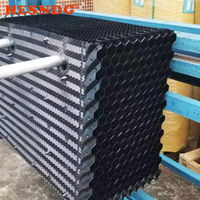 High quality square cross flow cooling tower PVC packing