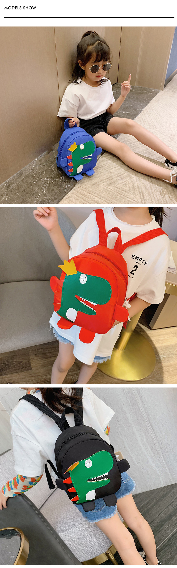 China Supplier Korean Cute Kids Backpack Student Satchel Kindergardent Small backpack