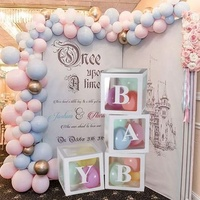 New Product Customize Baby Shower Boxes Party Decorations Party Supplies