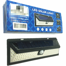 Cheap Price High Quality 90/118 Led IP65 PIR Motion Sensor Security Solar Garden Lamp