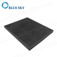 Customized Active Carbon Granule Honeycomb Panel Air Purifier Filters