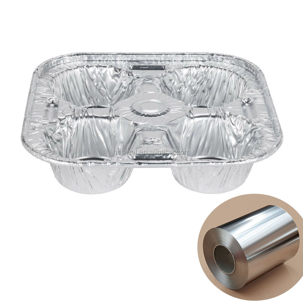 Alloy aluminium 8011 safety food grade household <strong>aluminum</strong> foil with high quality