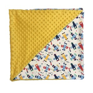 100% cotton super soft minky baby blanket with digital printing