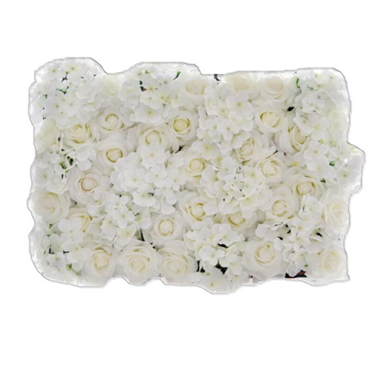 QSLH-<strong>W003</strong> Wedding flower wall backdrop artificial rose flower wall panels