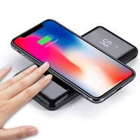 2019 New Products 3 in 1 universal power bank portable wireless charger powerbank