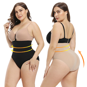 Lover-Beauty Transparent Black Strapless Full Body Shaper Breathable Stretchy And Comfortable Plus Size Seamless Shapewear