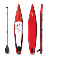 2019 New Racing inflatable sup stand up paddle board inflatable surf board fast racing speed water