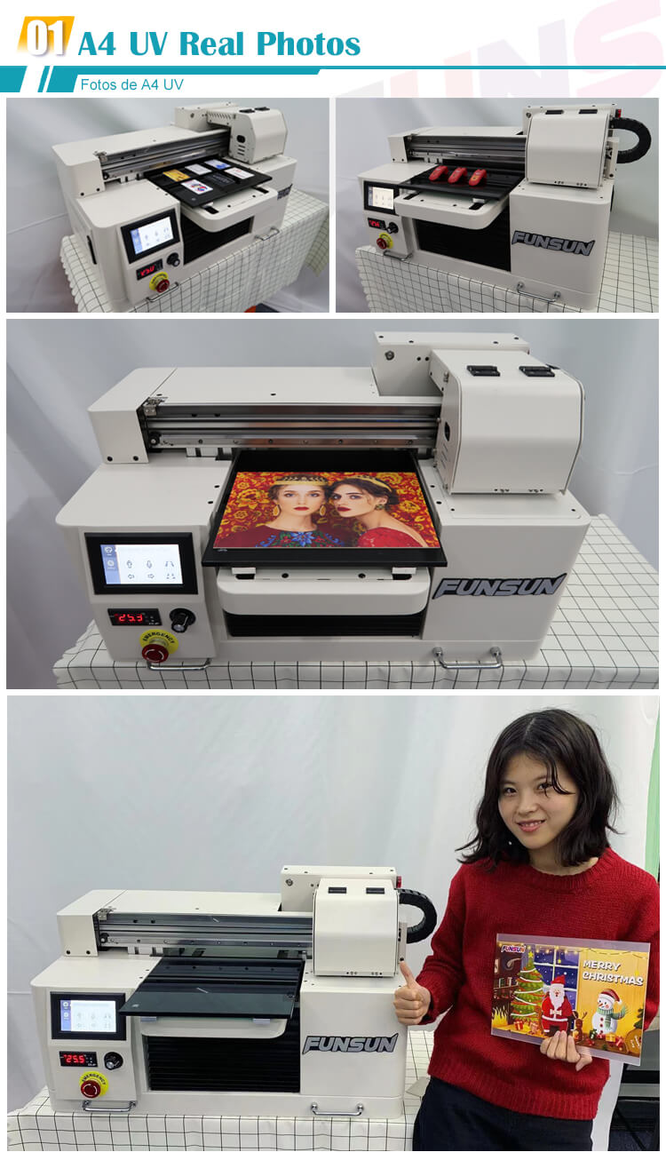 Quality certified A1 A3 A4 UV printing machine Mini digital wood glass pvc acrylic phone case Flatbed UV Printer a4 price