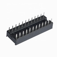 Laptop IC socket 2.54mm dip connector 24pin