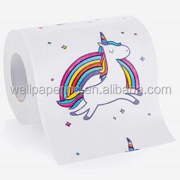 Full color printing 2 color printed paper roll