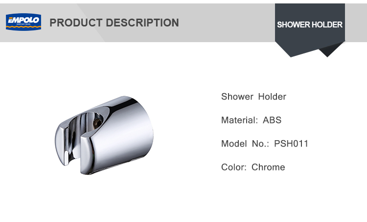 Wholesale Price Wall Mounted Chrome Plated ABS Material Of Hand Shower Bracket