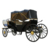 Luxury four wheels sightseeing horse carriages  electric horse carriage