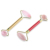 Wholesale high quality natural stone compact portable facial massager