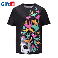 Sublimation Printer For Blank Tshirt In Bulk And Polyester High Quality Tshirt Printing Custom T Shirt