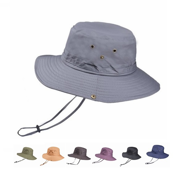 Fashionable Sport Fold Plain Print Logo Blank Summer Jungle Fishing Custom Bucket Hat
