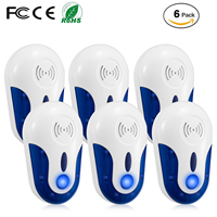 2020 Electronic Anti Rat Mouse Repellent Mice Mosquito Killer Pest Control Ultrasonic Pest Repeller
