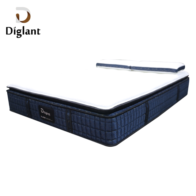 DM38 Diglant Latest Double Fabric Foldable King Size Gel Memory Latex Natural queen Single Bed mattress - Jozy Mattress | Jozy.net