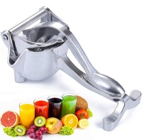 Manual Fruit Juicer Alloy Citrus Press, Heavy Duty Hand Press Fruit Juicer Detachable Lemon Lime Squeezer