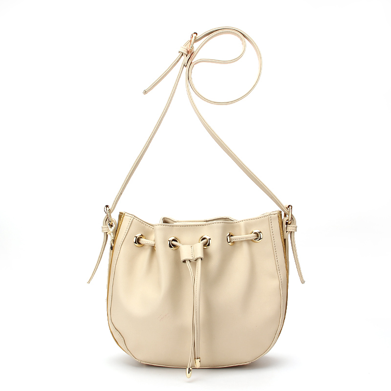 Hot Sale white leather ladies cross body bag <strong>manufacturer</strong>