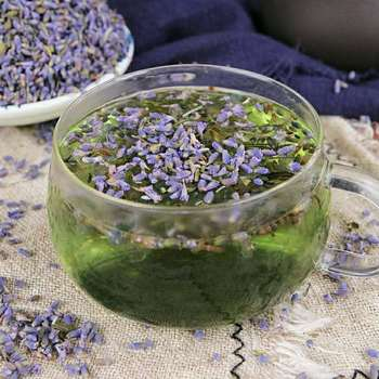 Free Samples Nature Chai Lavender Tea Flower Lavender Dried Tea