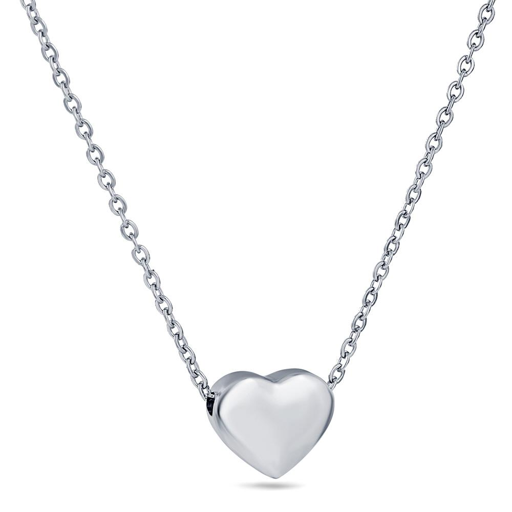 stainless steel collarbone chain necklace heart shape clavicle necklace Dylam jewelry