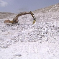 Egypt Miner Mining And Sell Natural Gypsum Plaster Or Gypsum Powder
