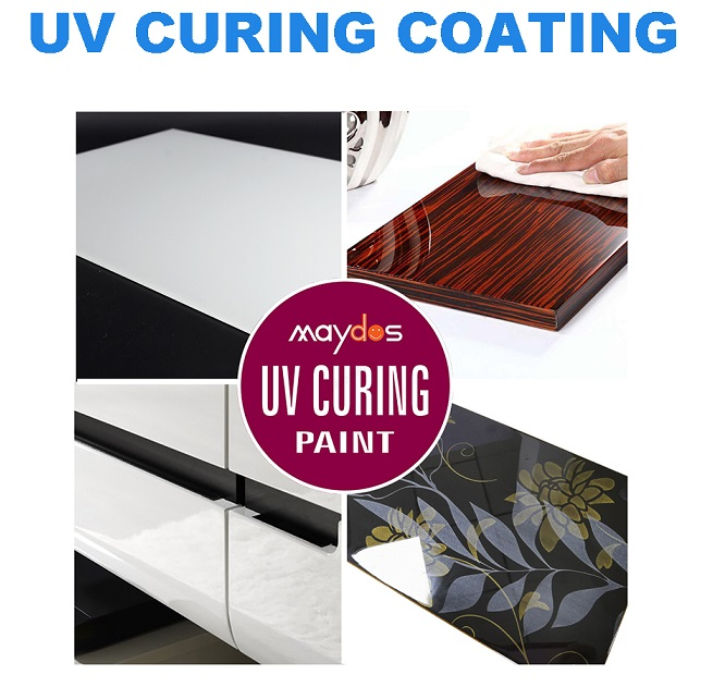 Maydos high Solid Content UV Curtain Coating Varnish UV paint ultraviolet curing paint