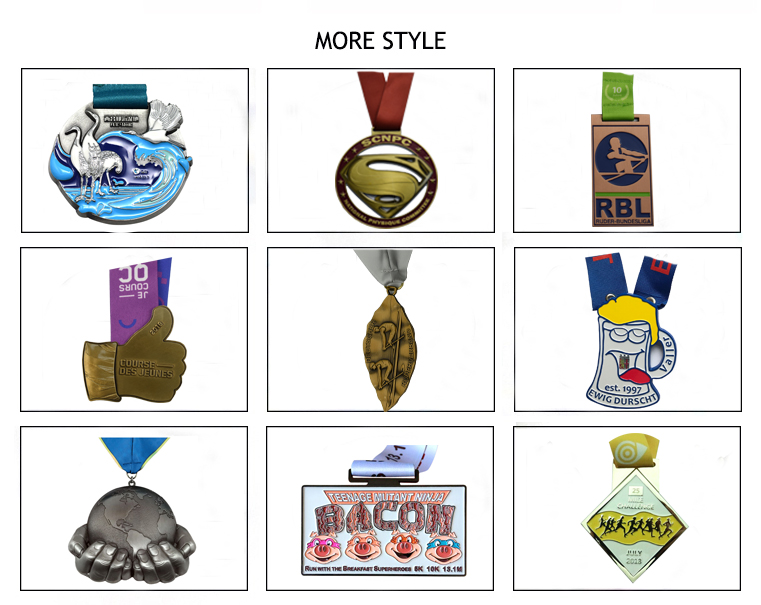 OEM antique silver gold medal trophy and cheap 100% metal logo engraved custom sports medals no minimum order