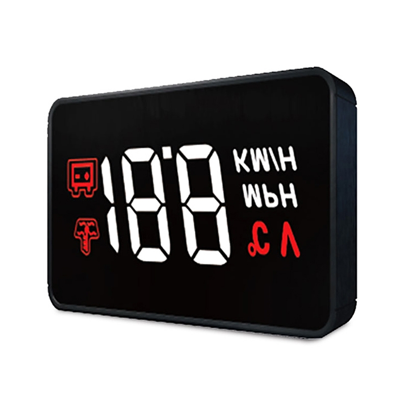 Hot Selling <strong>A100</strong> HUD OBD II Car Head Up Display Water Temperature &amp; High Water Temperature Alarm diagnostic tool