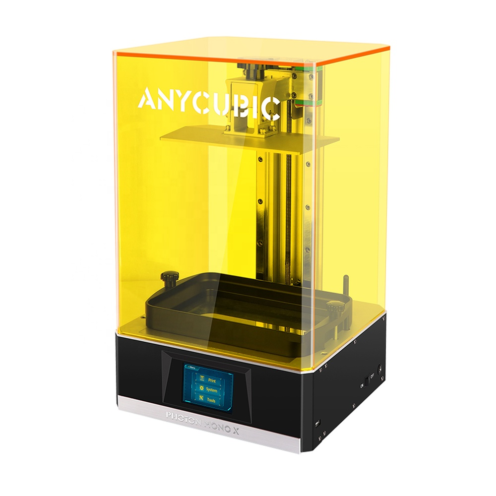 New Product Anycubic Photon Mono X 3D printer Remote control and Large Build Volume 192(<strong>L</strong>)*120(W)*245(H)mm