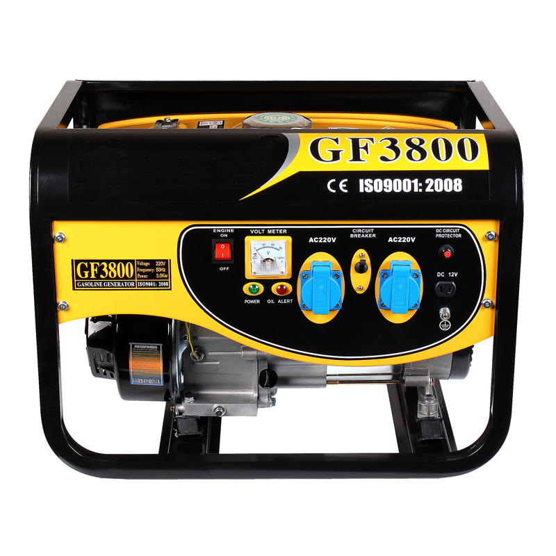 3KW 3000-Watt Single-Phase Silent Gasoline Generator HP4 Home Appliance Electric Portable Generator