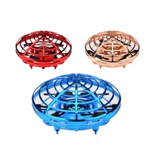 Anti-collision Flying Helicopter Magic Hand UFO Ball Aircraft Sensing Mini Induction remote control drone toy